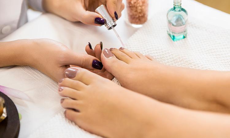 img esmaltado pedicura - miami nails